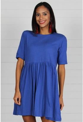 Pinkmark Kadın Mavi Elbise