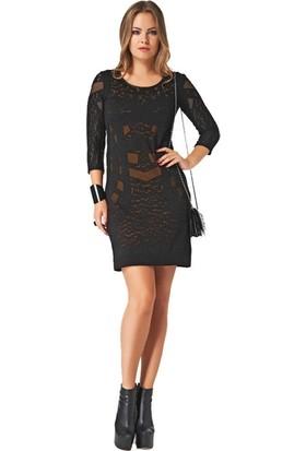 Dodona 2120 Tasarım Triko Elbise