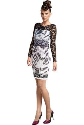 Dodona 1181 Tasarım Taşlı Gece Elbisesi