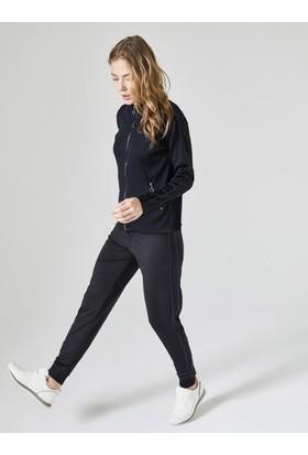 Xint Yanları Şeritli Spor Pantolon