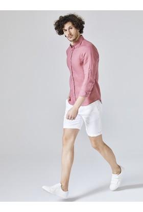 Xint Slim Fit Keten Gömlek