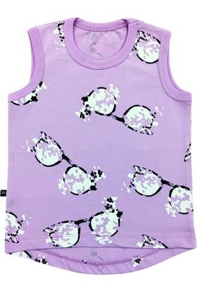 By Leyal For Kids Gözlük Detaylı Askılı T-Shirt-77648