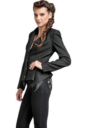 Dodona 1435 Tasarım Swarovski Taşlı Kot Pantolon Kadın