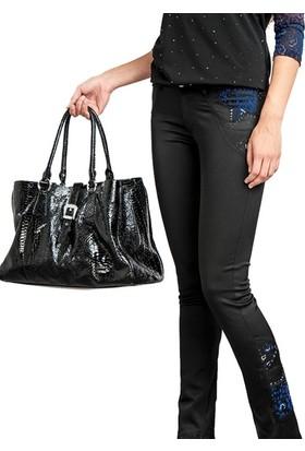 Dodona 1350 Swarovski Taşlı Tasarım Pantolon Kadın