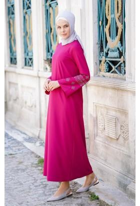 Abacı Kadın Pembe Mevsimlik Elbise 11792-B97-48