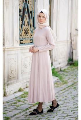Abacı Kadın Pembe Mevsimlik Elbise 11939-P55-44