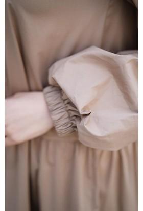 Abacı Kadın Bej Trenç Tunik 11984-P70-38