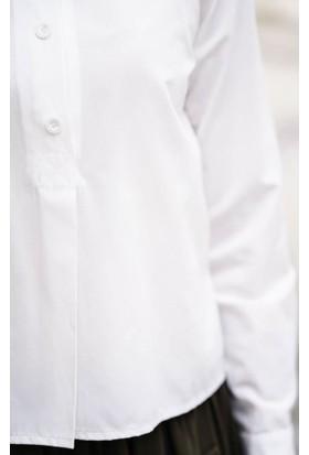 Abacı Kadın Ekru Gömlek 12041-R59-42