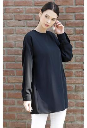 Abacı Kadın Siyah Tunik 12093-K99-44