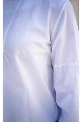 Abacı Kadın Beyaz Bluz 12094-R46-42