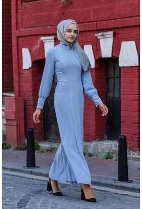 Abacı Kadın Gri Elbise 12151-S22-48