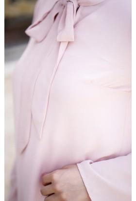 Abacı Kadın Pembe Şifon Tunik 12190-P63-52