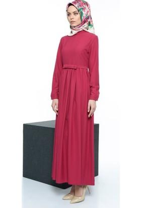 Abacı Kadın Fuşya Elbise 16Cel9242-44