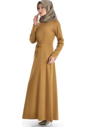 Abacı Kadın Camel Elbise 16El9828-G06-42