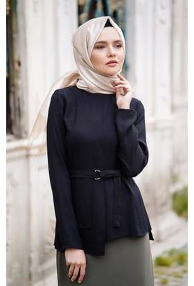 Abacı Kadın Siyah Bluz 17Blz9914-H41-44