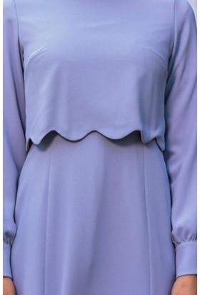 Abacı Kadın Gri Elbise El12037-S22-42