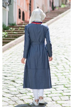 Abacı Kadın Mevsimlik Mavi Yelek - K10465-I97-44