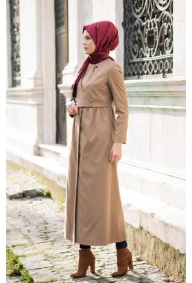 Abacı Kadın Camel Kaşe Pardesü P11064-F60-40