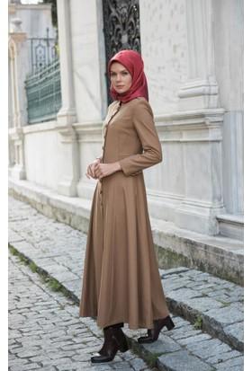 Abacı Kadın Camel Kaşe Pardesü P5633-L78-52