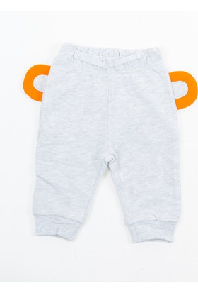 Colorinas Marl Animal Face Patch Joggers Gri