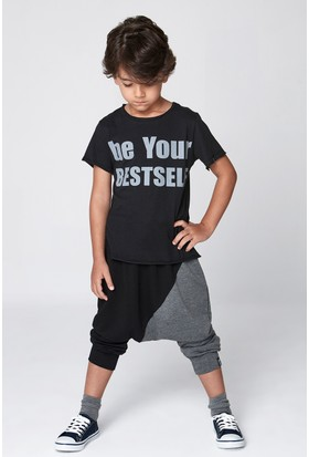 Monokido Be Your Bestself T-Shirt Siyah