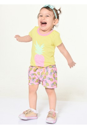 Colorinas Babys Pineapple T-Shirt Sarı