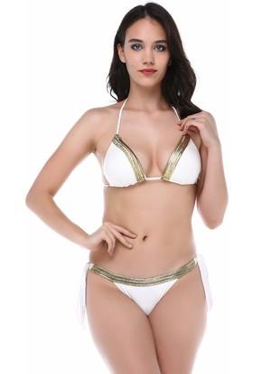 Aquella Kadın Kaplı Üçgen Bikini