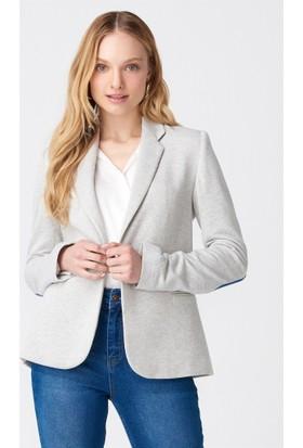 Dilvin Gri Blazer Ceket