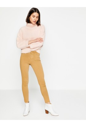Koton Kadın Düz Dar Paça Pantolon