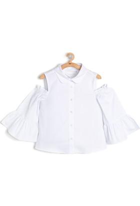 Koton Kız Çocuk Omzu Açık Gömlek