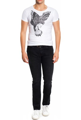 The Freshman Fr1012 Kartal Baskılı T-Shirt