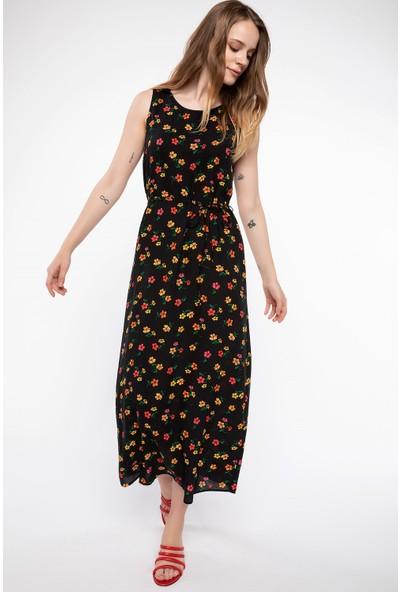 Defacto Baskılı Trend Elbise