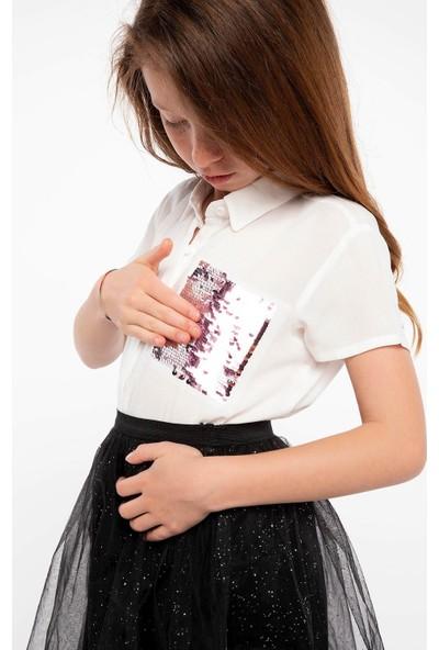 Defacto Kısa Kollu Gömlek