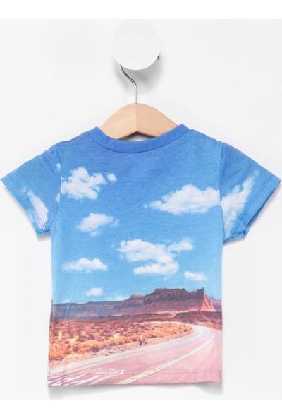 Defacto Erkek Bebek Kısa Kollu Baskılı T-Shirt