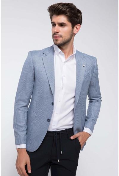 Defacto Keten Karışım Blazer Ceket