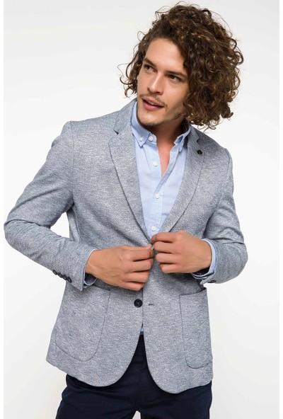 Defacto Slim Fit Blazer Ceket