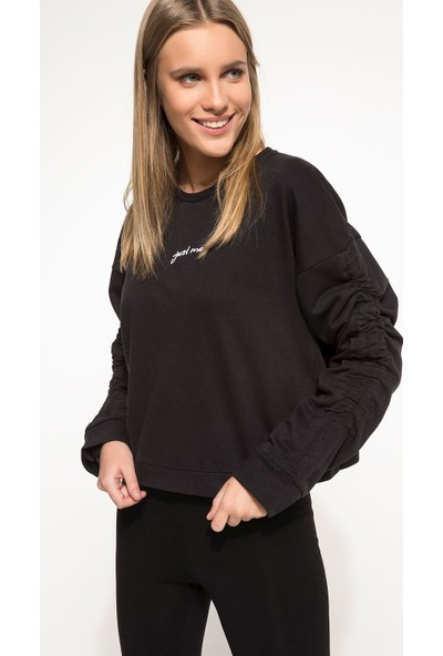 Defacto I5740Az17 Uzun Kollu T-Shirt