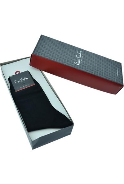 Pierre Cardin Erkek Bambu Çorap 6'lı Set Siyah 800