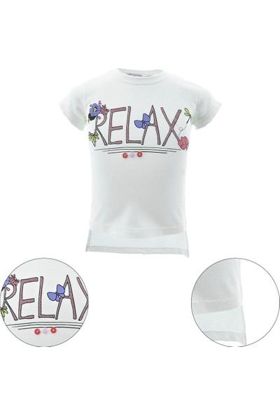 Peri Masalı Kız Çocuk T-Shirt 1-4 Yaş 6693
