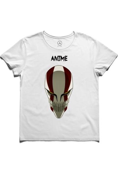 Art T-Shirt - Anıme Ichıgo Kurosakı Wızard Mask Erkek Tişört
