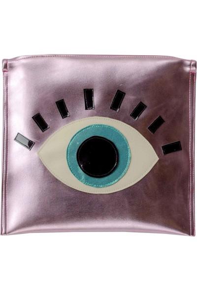 Juno Paper Portföy / Clutch Kadın El Çantası – Eye In The Sky