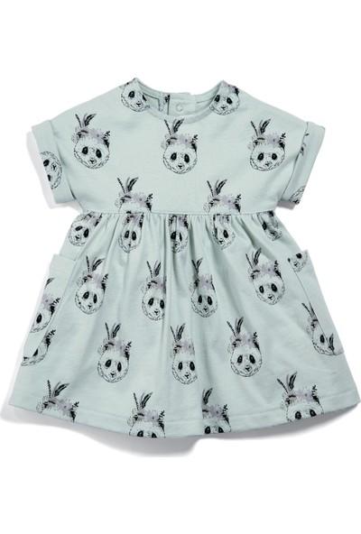 Mamas & Papas Panda Baskılı Elbise