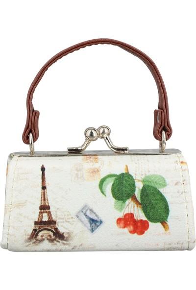 Mathilde Eifel Tower Mini Bozuk Para ve Anahtarlık Çantası