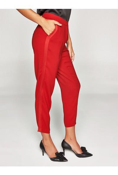 Faik Sönmez Saten Şeritli Pantolon 37519