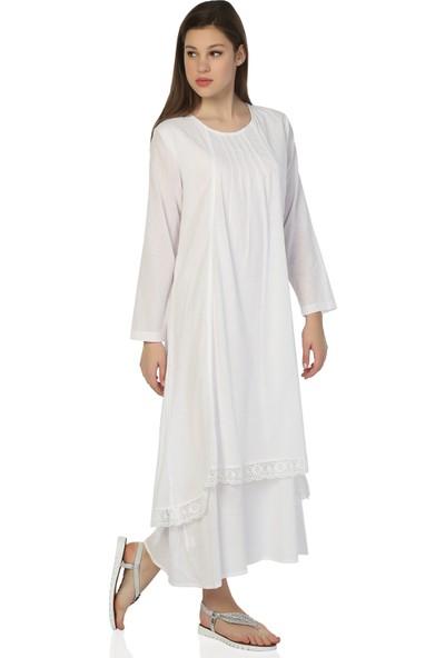 Eliş Şile Bezi Nevrürlü Elbise
