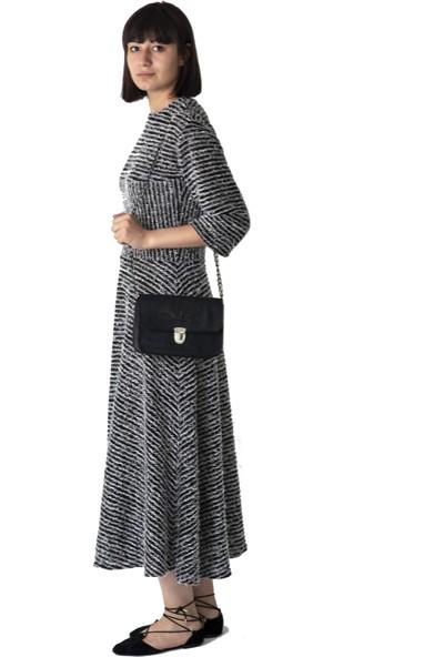 Kavshak Triko Elbise