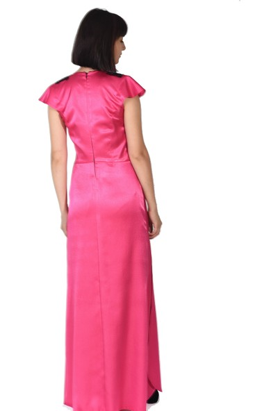 Kavshak Yırtmaçlı Elbise