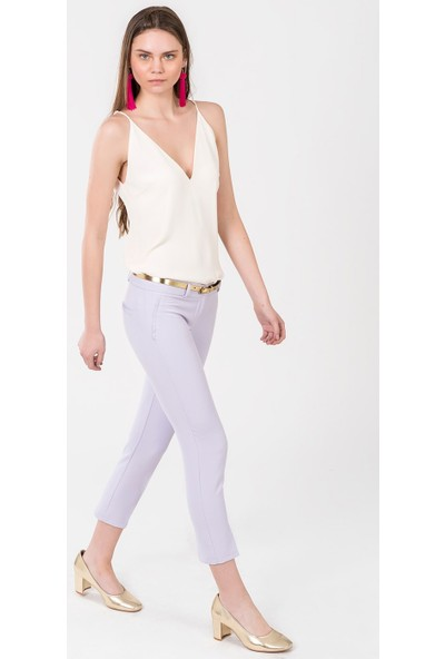 İroni Dar Paça Kumaş Pantolon - 1581-891A