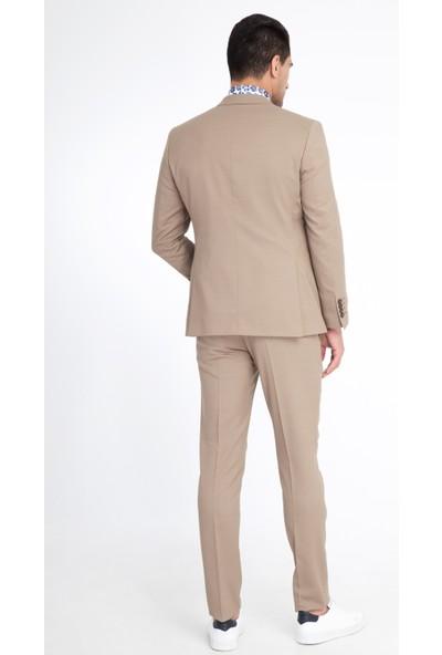 Kiğılı Slimfit Kuşgözü Takım Elbise