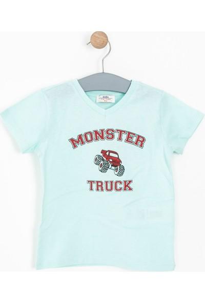 Soobe Erkek Çocuk T-Shirt Nane